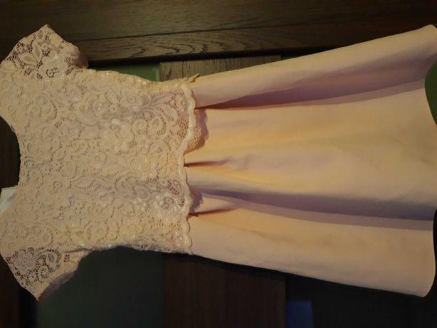 Sukienka dla dziewczynki rozmiar 128
