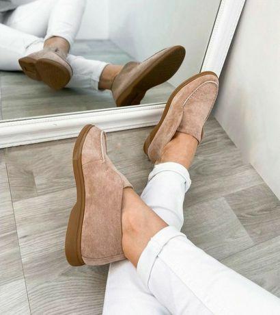 Лоферы,туфли 36-40 новые  ,пудра в наличии !стильные классика