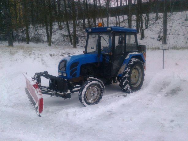usługa Odśnieżania ciągnikiem rolniczym