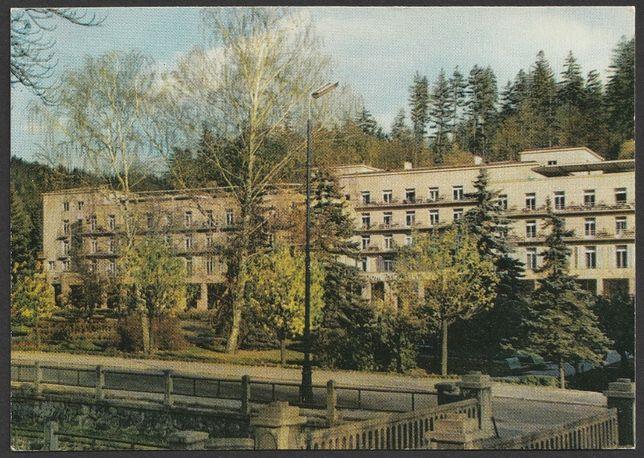 pocztówka - Krynica 1971 - Nowy Dom Zdrojowy