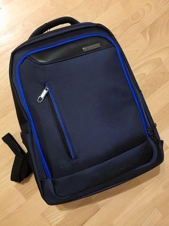 Na prezent - Nowy plecak na laptop, Puccini, granatowy, 33 l