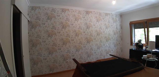 Coloco papel de parede