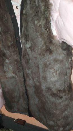 Продам подстёжка жилетку большого размера с натурального меха