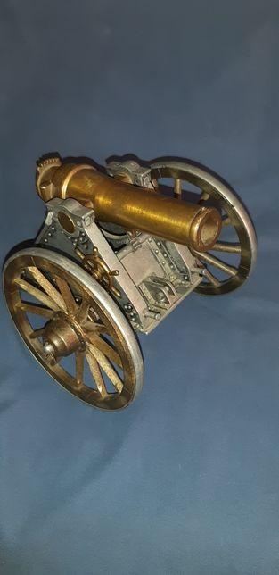 Armata moździerz duża miniatura Mortero 1895 szabla bagnet