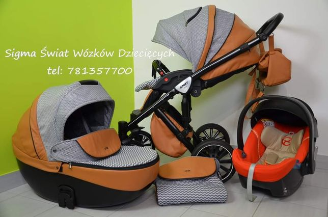 Świetny wózek wielofunkcyjny anex sport 2w1 3w1 gondola spacerówka