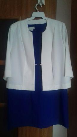 Sukienka r.50+żakiet r.52 (nowy)