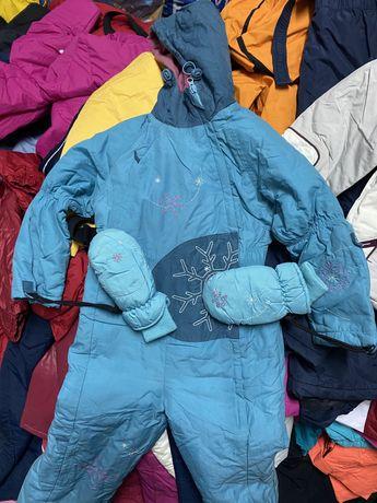 Секонд хенд Детсое зима, second hand оптом лыжная одежда