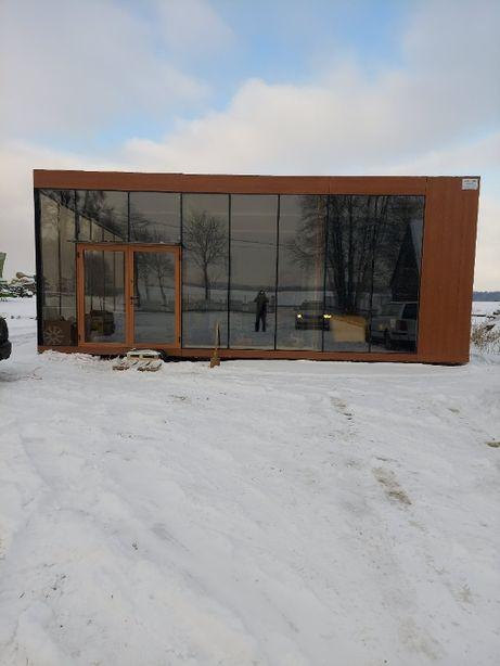p20 pawilon handlowy kontener biurowy modułowy gastronomiczny dom