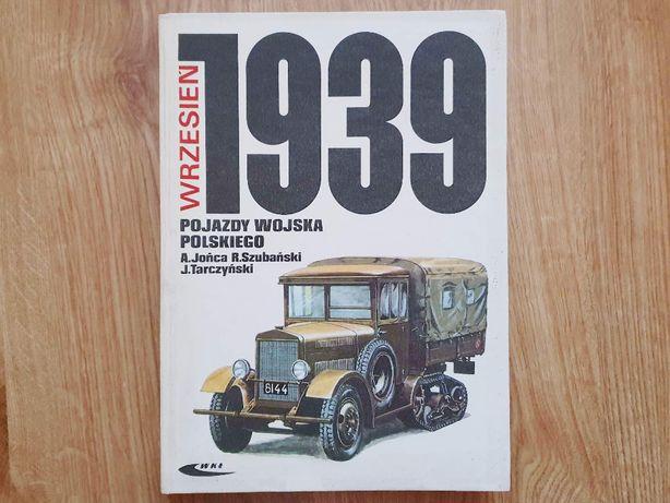Książka Pojazdy Wojska Polskiego Wrzesień 1939
