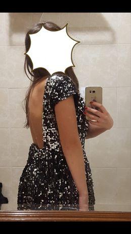 Vestido de lantejoulas preto