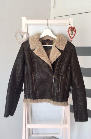 Sztuczne futro kożuch kurtka saki collection vintage 36 38