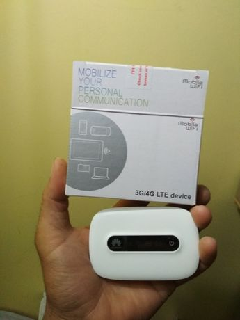 Router wi-fi 4G, novo estrear, Livre.