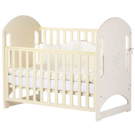Детская кроватка Верес Соня ЛД-8 (слоновая кость)