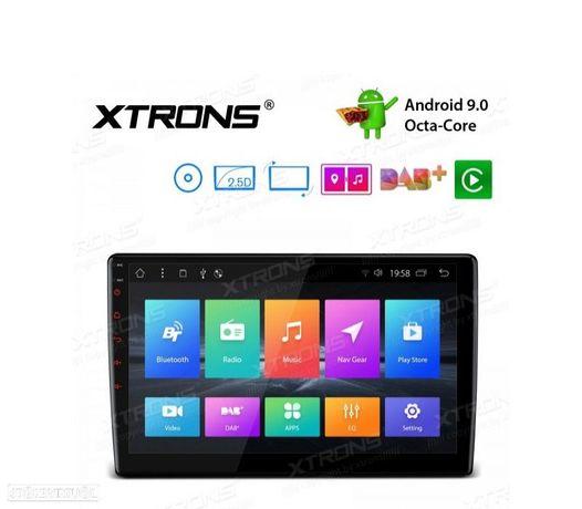 "AUTO RADIO GPS 1DIN ANDROID 9.0 LCD TÁCTIL 10"" CARPLAY USB DUAL ZONE"