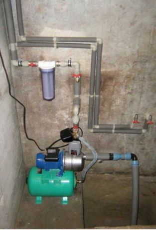 Монтаж, Пайка пластиковых труб, подключение водонасосных станций и т.д