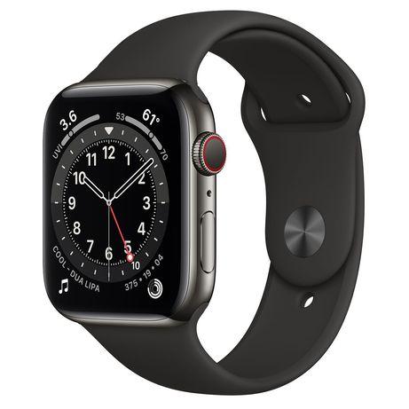 Smartwatch Apple Watch 6 44mm Stainless Steel Stal Nierdzewna Nowy FV