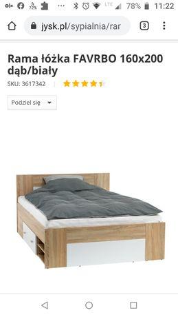 Łóżko sypialnia sypialniane szafki nocne