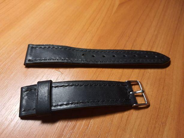 Ремешок кожаный 22мм для часов