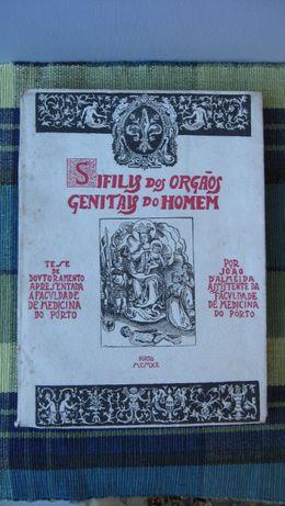 Sifilis dos Orgãos Genitais do Homem de 1920 por João D'Almeida