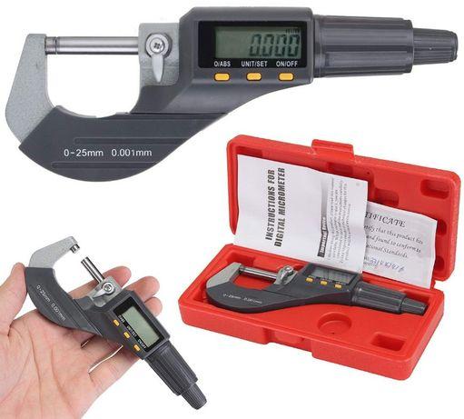 Микрометр электронный цифровой 0-25мм. Мікрометр 0,001мм.