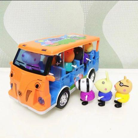Peppa pig camioneta com luzes (oferta de portes)