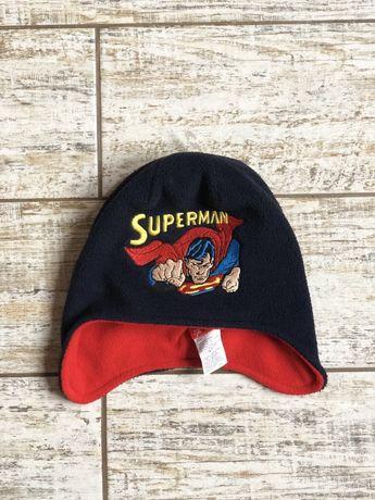 Продам флисовую шапку superman