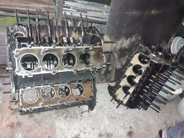 Блок двигателя газ 53. 66.3307. Паз .