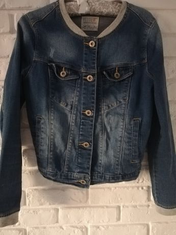kurtka jeansowa damska rozmiar S