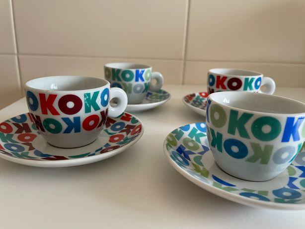 Vendo conjunto chávenas de café