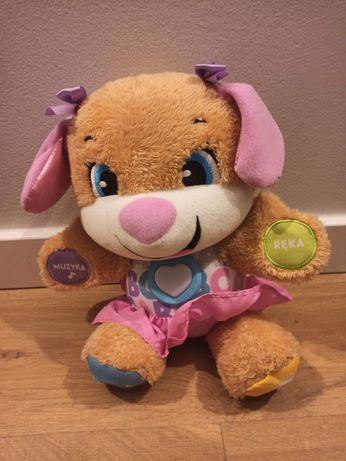Psiaczek Uczniaczek wersja żeńska interaktywna zabawka
