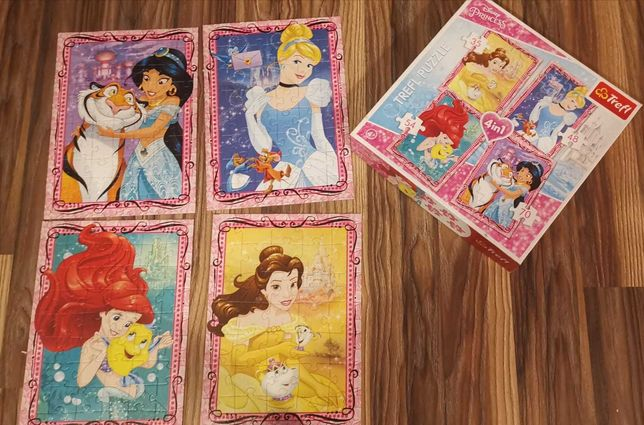 Puzzle Disney księżniczki.