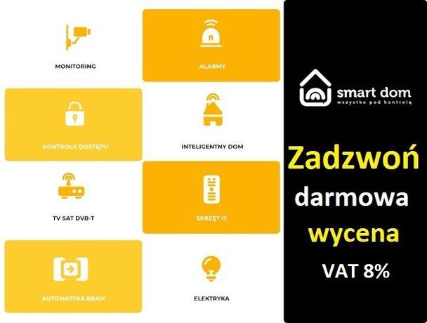 Montaż Kamer, Monitoring, Montaż Alarmu, CCTV, instalacje elektryczne