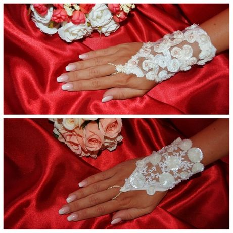 Перчатки свадебные . Выбор