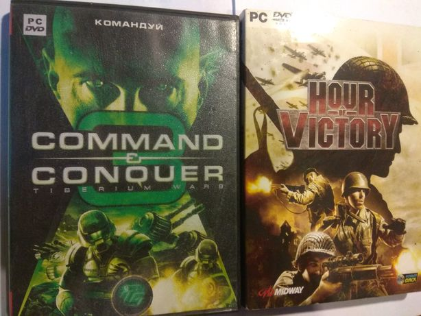 Диски для ПК Hour of victory, commander and conquer
