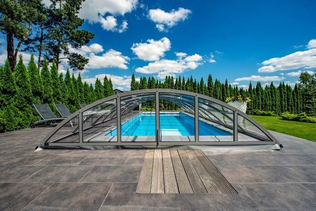 przykrycie nad basen, zadaszenie basenowe, zadaszenia basenowe