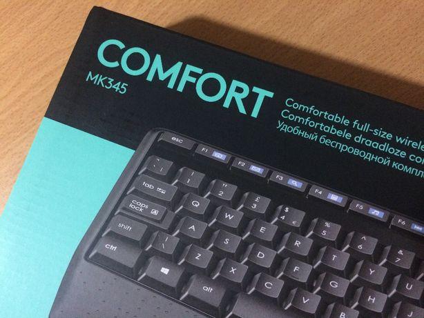 Teclado e Rato sem fios - Wireless Combo MK345 - Ing.