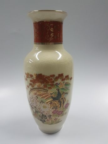 Jarra porcelana Satsuma 20 cm.altura