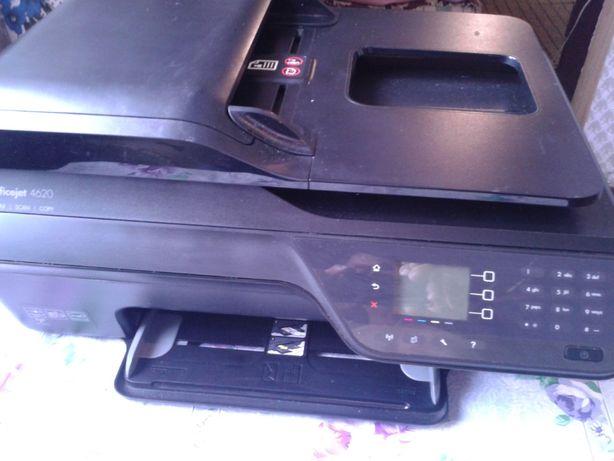 HP Officejet 4620 e-All-in-OneМФУ/факс, A4, печать термическая струйна