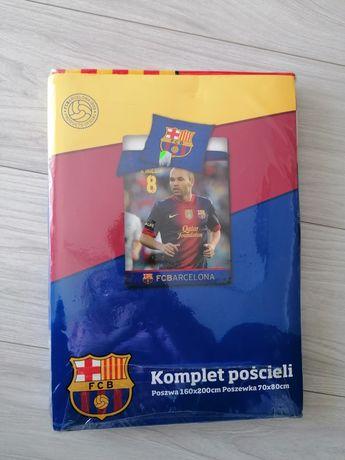 Nowa pościel 160x200 FC Barcelona