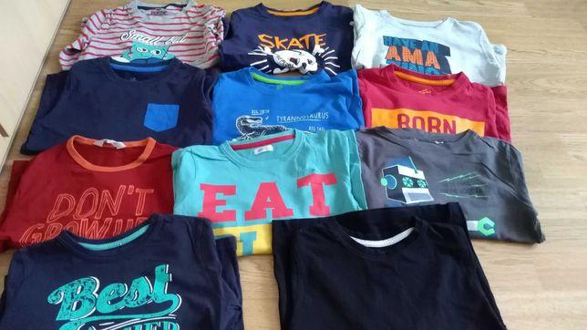 Zestaw koszulek na długi rękaw 110-116