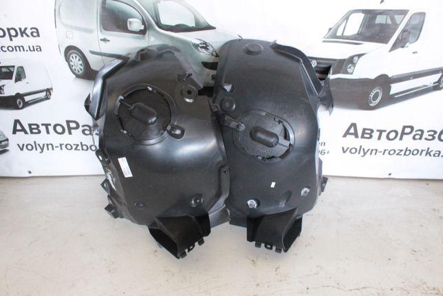 Подкрылки передние (передняя часть) задние Renault Kangoo 2 Рено кенг