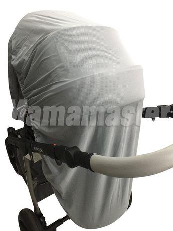 Защитные москитные сетки на детскую коляску - плотные