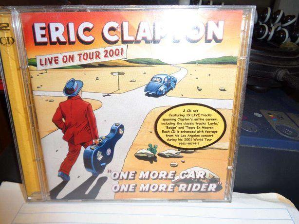 CD Duplo Eric Clapton one mor car one mor rider para oferecer no Natal