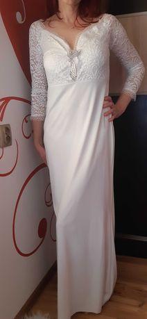 suknia biała S/M