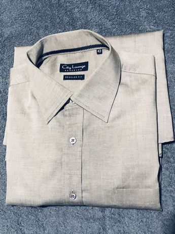Koszula jasny szary Reserved