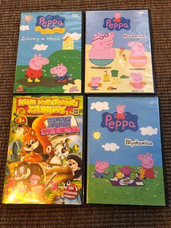 Bajki DVD, VCD, świnka PEPA, gra pozbawiona przemocy