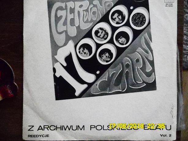 Płyta winylowa Czerwono Czarni - z archiwum polskiego beatu