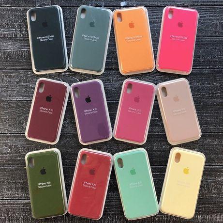 Чехол Silicon Case iPhone XS MAX/XR/X/8+/7+/8/7/6S+/6+/6s/6/SE/5s/5