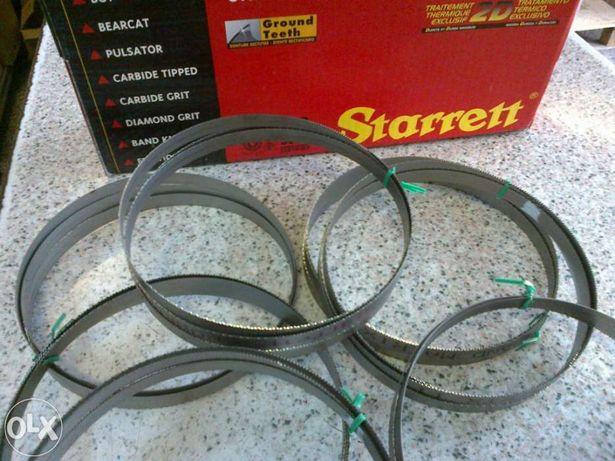 Serras de cinta Starret bimetal para serrote fixo