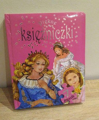 Książka z puzzlami + 2 ZA DARMO _ Piękna i bestia Śpiąca królewna